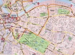 Dresden Germany Map by Walking Germany Dresden