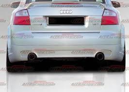audi b6 kit audi a4 rear bumpers audi a4 b6 corsa style 4 dr rear skirt 02