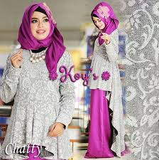 fashion terbaru model fashion terbaru pakaian muslim wanita pilihan trend