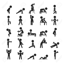 697 bench press stock vector illustration and royalty free bench