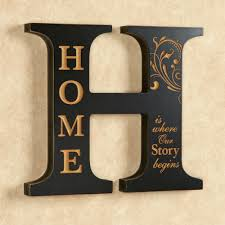 home decor plaques home accent letter wall decoration