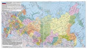 european russia map cities large detailed political and administrative map of russia with