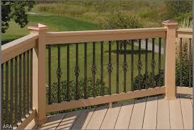 Ideas For Deck Handrail Designs Enchanting Ideas For Deck Handrail Designs Outdoor Garden Best