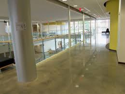 concrete flooring office of sustainability eastern kentucky