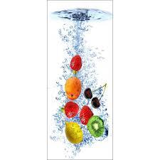 stickers porte cuisine sticker frigo déco cuisine fruits déco stickers