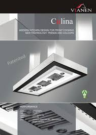 modern kitchen extractor fans culina vianen kitchen ventilation pdf catalogues