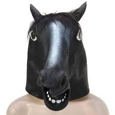 popular horse mask costume buy cheap horse mask costume lots from