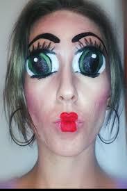 Scary Baby Doll Halloween Costume Beautiful Halloween Makeup Creepy Doll Images Harrop Harrop