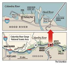 Hood River Oregon Map by Hood River Ore A Port Of Inspiration For Clark County The