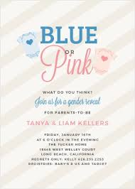gender reveal baby shower gender reveal baby shower invitations match your color style free