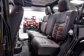 custom jeep interior 2017 jeep wrangler rubicon hard rock unlimited black