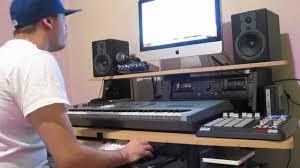 thomann studio desk sfire makeing a beat in home studio youtube