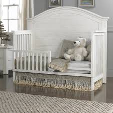 Convertible Crib Bed by Dolce Babi Lucca Full Panel Convertible Crib In Sea Shell
