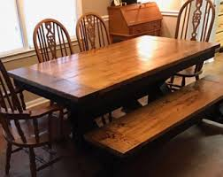 Coffee Table Dining Table Farmhouse Table Etsy