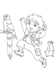 Free Diego Coloring Pages For Kids Cartoon Coloring Pages Of Go Diego Go Coloring Pages