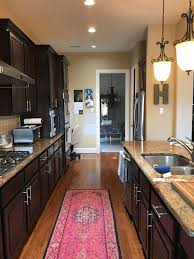rust colored granite espresso cabinets paint color help