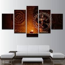 canvas decorations for home shiva nataraja painting superior quality canvas printed wall art