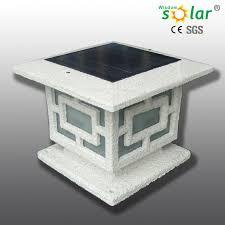 solar powered pillar lights outdoor led solar powered pillar lights jr 3018 buy solar powered