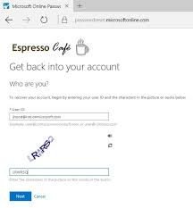 reset microsoft online services password how to change your office 365 password