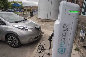 nissan leaf journey planner electric vehicle charging points