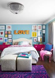 chambre fille bleu peinture chambre enfant en 50 idées colorées