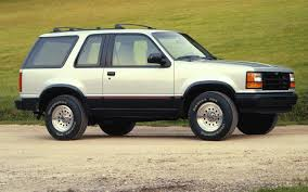 two door ford explorer 25 years of the ford explorer a look back at this suv s history