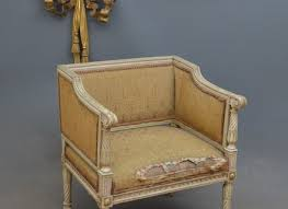 Victorian Armchair Antique Victorian Hand Painted Paper Mache Chair With Mother Of