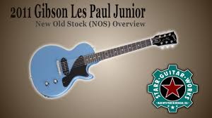 light blue gibson les paul 2016 overview 2011 nos new old stock gibson les paul junior in