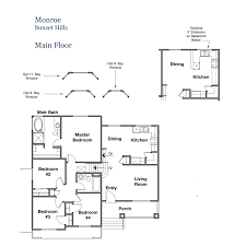floor plans single family homes in valley