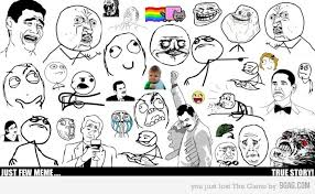All The Meme Faces - some 9gag meme miivenue