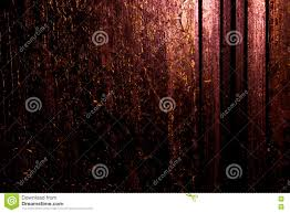 techno halloween background dark old scary rusty rough golden and copper metal surface texture