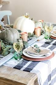 green and copper thanksgiving tablescape printable repurposing