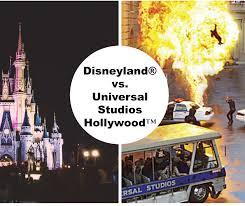 disneyland vs universal studios compare major differences