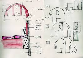 ellie the elephant u0027 playhouse life of an architect