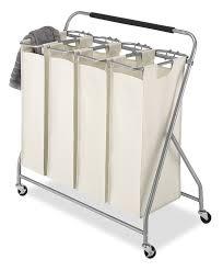 Quad Laundry Hamper by Amazon Com Whitmor Easy Lift Sorter Quad Home U0026 Kitchen