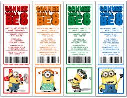 minion birthday party invitations reduxsquad com