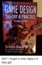 game design theory woknow game diveloitry librahm game design theory practice second