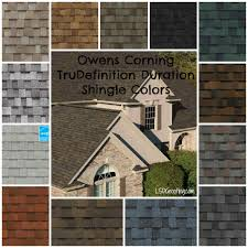 roof color owens corning trudefinition duration shingles for