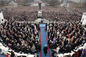 picture of inauguration crowd donald trump u0027s inauguration live 45th president of the usa sworn