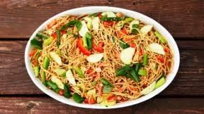 noodle salad recipes cold asian noodle salad recipe entree recipes pbs food