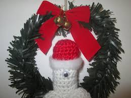 xmas wreath xmas mature xmas wreath crochet