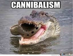 Crocodile Meme - croc cannibalism by hetashi meme center