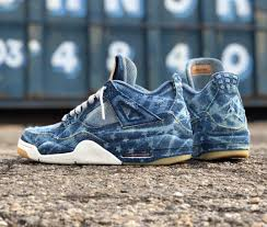 Nike Levis custom levi s x air 4 sole collector