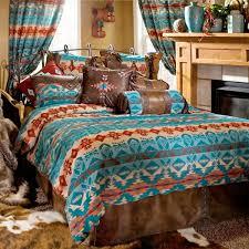 carstens rustic and lodge bedding sets santa fe ranch
