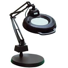 workbench magnifying glass with light magnifying work light workbench magnifying glass with light