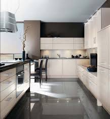dark kitchen floor tile white tiles backsplash white marble top