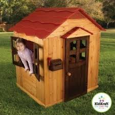 Kids Backyard Forts Outdoor Wooden Playhouses Foter