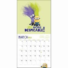 minion desk calendar 2017 despicable me minion made 2015 mini wall calendar 9781620213544
