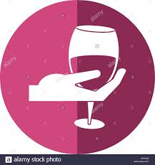 cartoon white wine white wine pouring stock vector images alamy