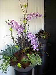 orchid arrangements theartofsilk flowers arrangements weddings